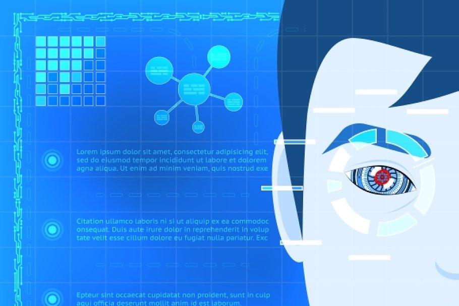 Eye Biometrics Scanner