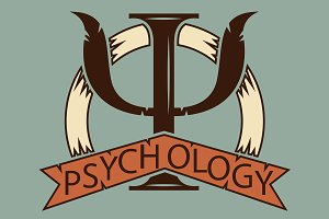 Psychology. logo for a psychologist.