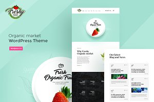 Freshy-Organic Shop WordPress Theme