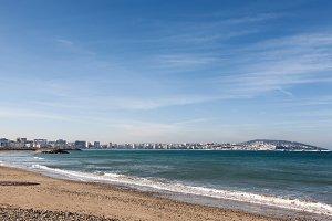 Tangier Morocco coastal landscape