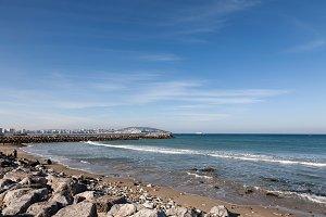 Tanger Morocco coastal landscape