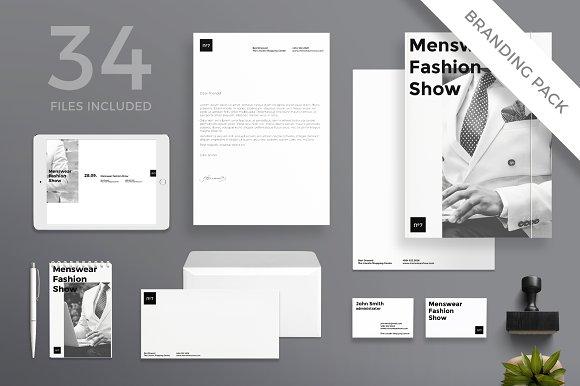 Branding Pack Menswear Show