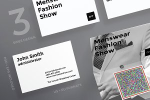 Business Cards | Menswear Show