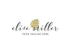 Lifestyle Blogging Custom Logo