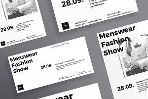 Flyers | Menswear Show