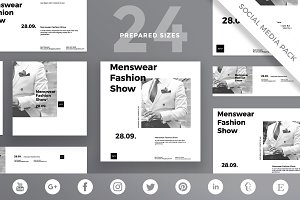 Social Media Pack | Menswear Show