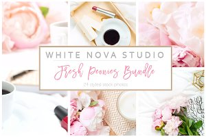 Fresh Peonies Bundle