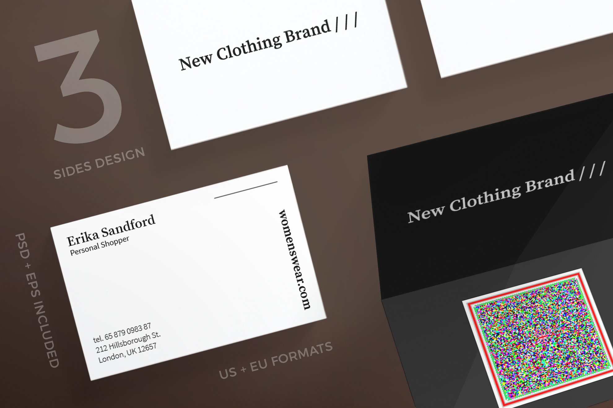 Business Cards | Women Fashion ~ Business Card Templates ~ Creative ...