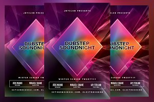 Dubstep Sound Night Flyer