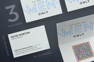 Business Cards | Mens Wear