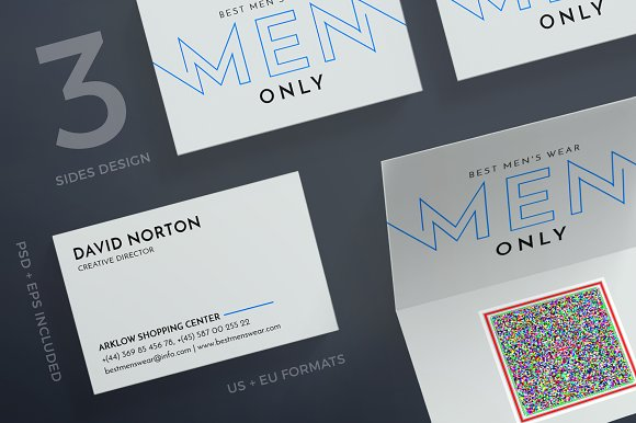 business cards mens wear business cards - Best Font For Business Cards