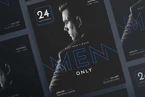 Posters | Mens Wear