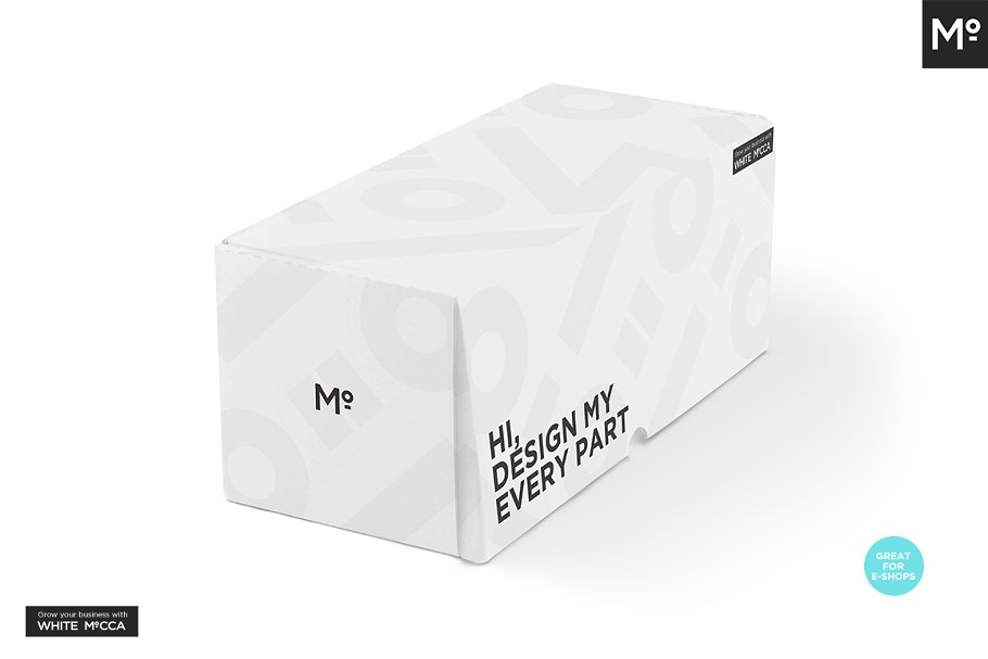 Mailing Box Mock-up in Templates - product preview 5