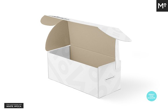 Mailing Box Mock-up in Product Mockups - product preview 6