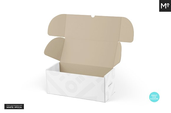 Mailing Box Mock-up in Product Mockups - product preview 8