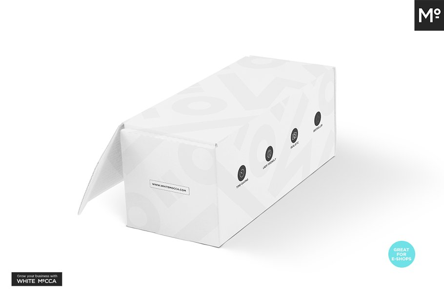 Mailing Box Mock-up in Templates - product preview 9