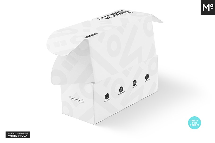 Mailing Box Mock-up in Templates - product preview 10