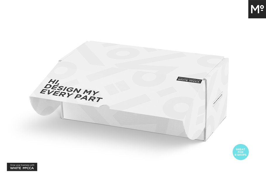 Mailing Box Mock-up in Templates - product preview 11