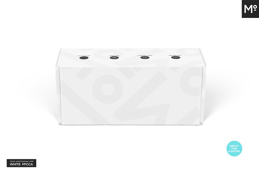 Mailing Box Mock-up in Templates - product preview 13
