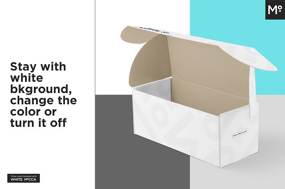 Mailing Box Mock-up in Product Mockups - product preview 16