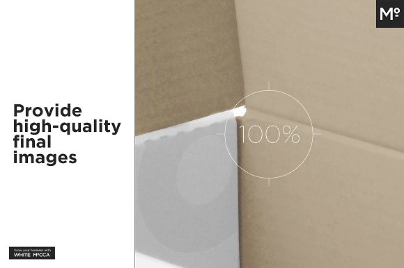 Mailing Box Mock-up in Product Mockups - product preview 17