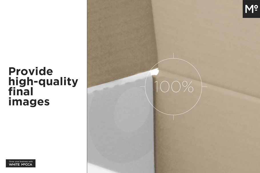 Mailing Box Mock-up in Templates - product preview 17