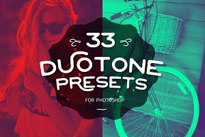 Duotone Photoshop Creative Actions
