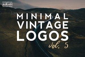 [vol.5] 20 Minimal Vintage Logos
