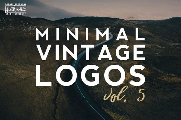 20 Minimal Vintage Logos