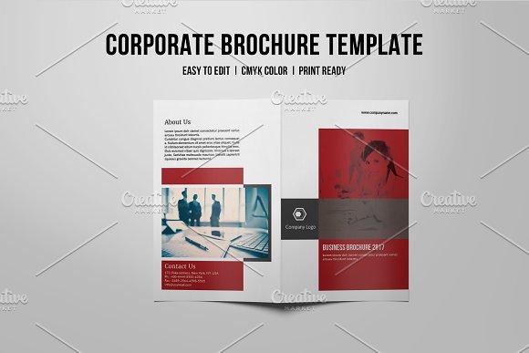 InDesign Corporate Brochure-V734