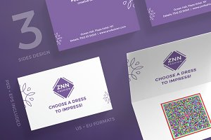 Business Cards | Choose a Dress
