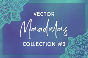 Vector Mandalas Collection #3
