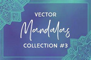 Vector Mandalas Collection #3