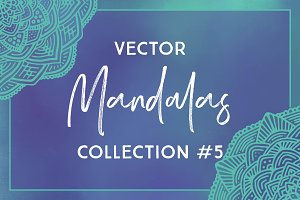 Vector Mandalas Collection #5