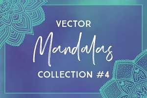 Vector Mandalas Collection #4