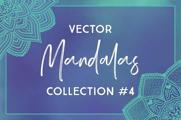 Vector Mandalas Collection #4
