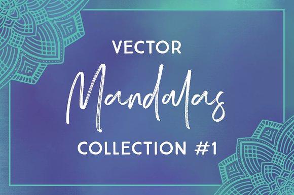 Vector Mandalas Collection #1