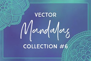 Vector Mandalas Collection #6