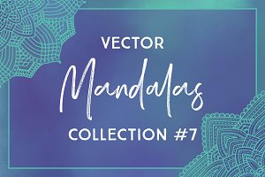Vector Mandalas Collection #7