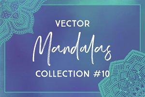 Vector Mandalas Collection #10