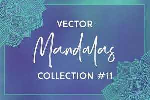 Vector Mandalas - Collection #11