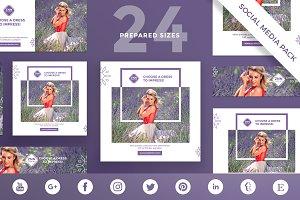 Social Media Pack | Choose a Dress