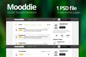 Mooddie - Social Stream Network Int