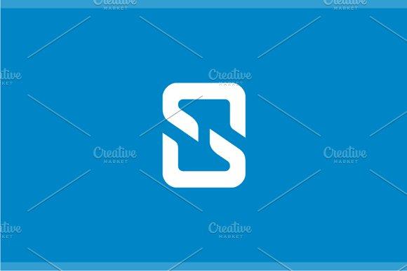 Split Letter S Logo