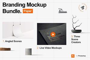 Branding Mockup Bundle, Paper