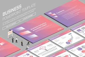 Business Powerpoint Template vol.16
