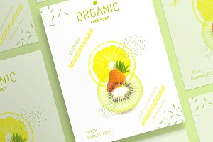 Posters | Organic Food