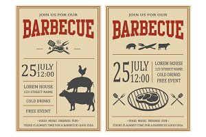 Barbecue posters