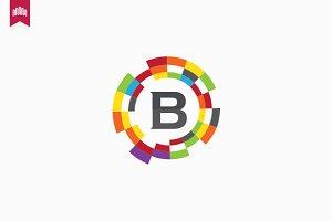 Bitcom - Letter B Logo