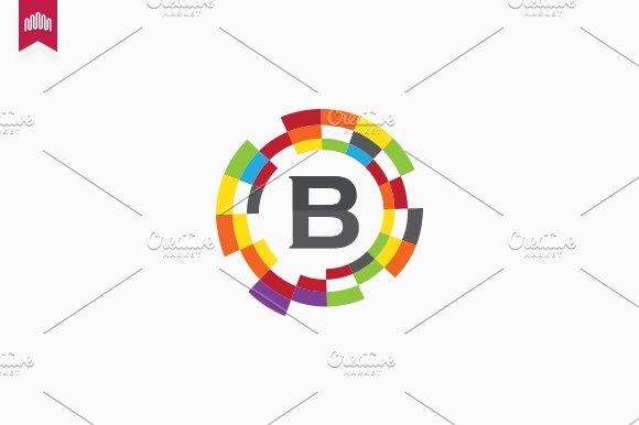 Bitcom Letter B Logo